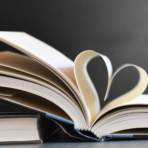 Books Heart Pages Literature  - Veronika_Andrews / Pixabay